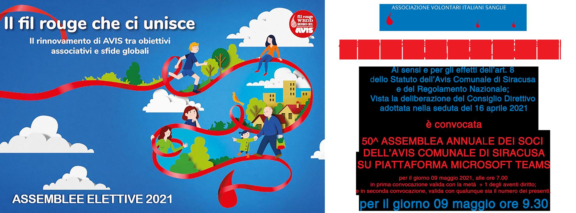 50^ Assemblea Ordinaria annuale elettiva degli associati